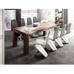 Nowoczesny stół dębowy NAKO 180-220-260-300-400 cm