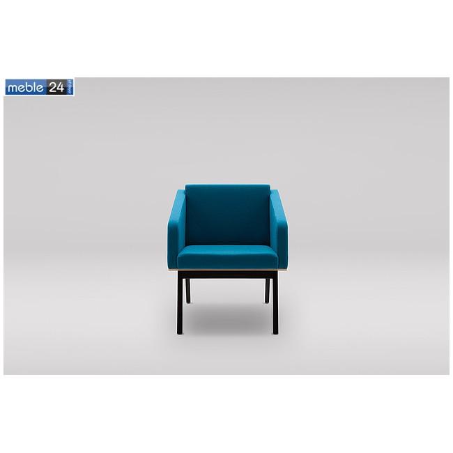 Elegancki fotel do salonu z podłokietnikiem EURO FIN