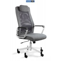 Fotele biurowe um FELIX - czarny i szary