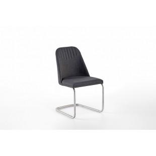 Krzesło ELARRA A stelaż stal szlachetna szczotkowana, płoza