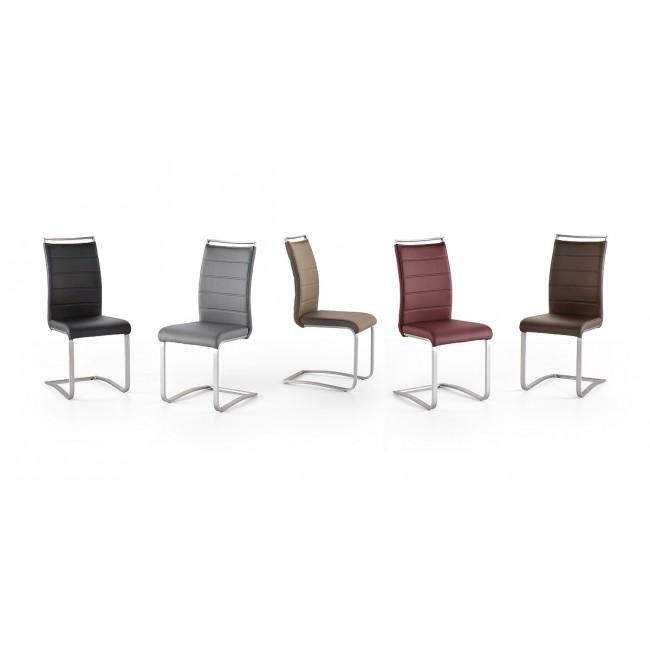 Krzesło PESKARA na płozie, pięć kolorów