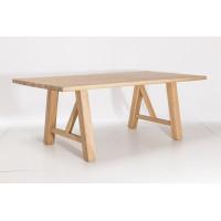 Stół dębowy lity DEC-300 180/200/220-100 cm